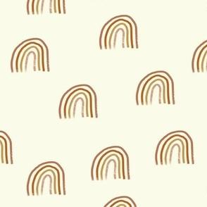 Peachy Rainbows // Ivory