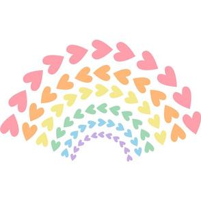 Rainbow Love Panel