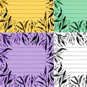 Quilt Label 5x5 Square 6 Colors