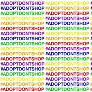 Pride Adopt Don't Shop