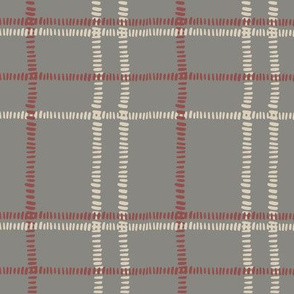plaid stitches-gray