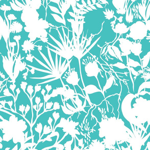Jungle in Teal