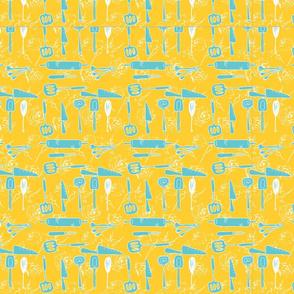 kitchen 3 on yellow