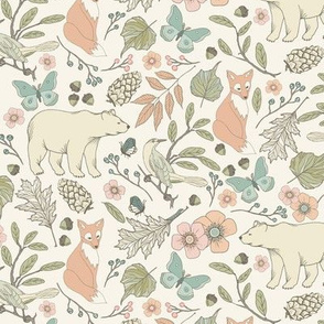 Autumn Pastel - Mini - Cream