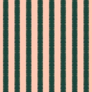 Stripes of Rose and Spearmint