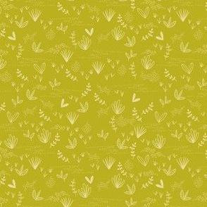 Doodle Field - Mustard Ground