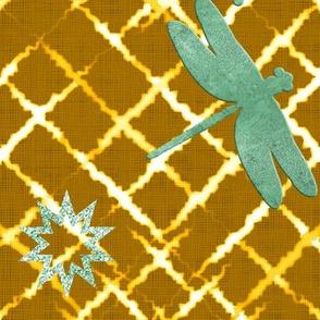 Golden Shibori (Mustard)