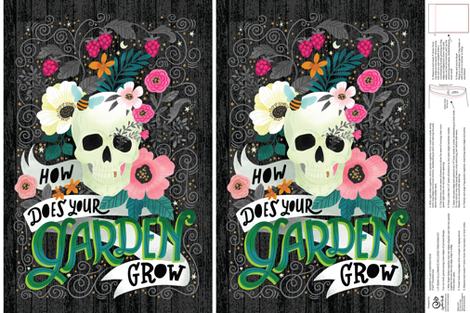 How Does Your Garden Grow fabric by cynthiafrenette on Spoonflower - custom fabric