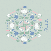 Imbolc Tea Towel