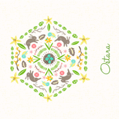Ostara Tea Towel