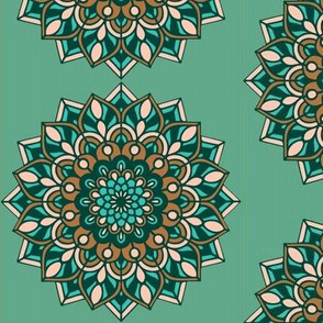 Limited Palette Mandala 2019