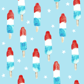 (small scale) bomb pops with stars C19BS