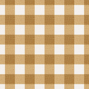 NEW Gingham_Mid Butterscotch