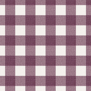 NEW Gingham_Puce