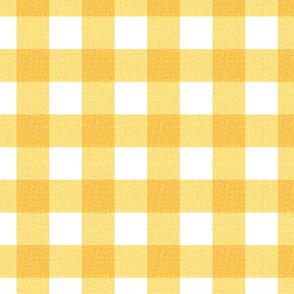NEW Gingham_Sunshine yellow