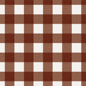 NEW Gingham_Rust