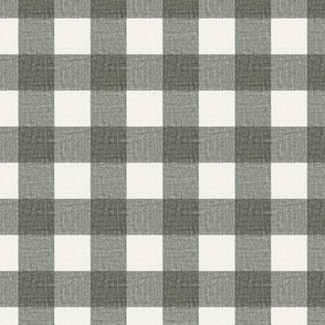 NEW Gingham_Sage Green