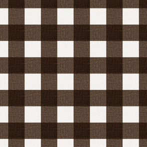 NEW Gingham_Brown
