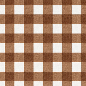 NEW Gingham_Copper Bronze