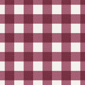 NEW Gingham_Cranberry