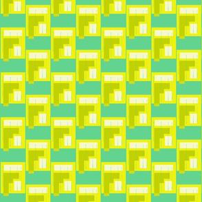 (5) Yellow kajak