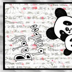 Baby Bamboo Panda Teatowel