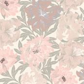 Vintage floral - pink
