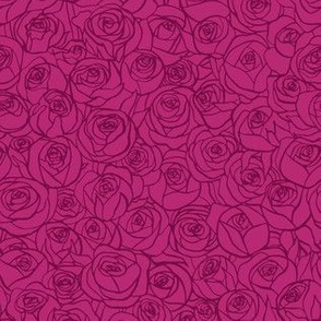 ranunculus floral - wine