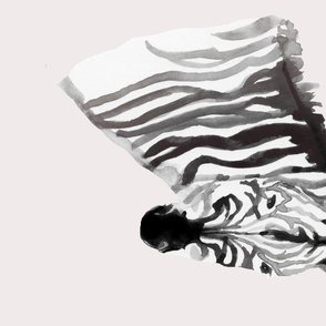 zebra fat quarter