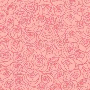 ranunculus floral - blush