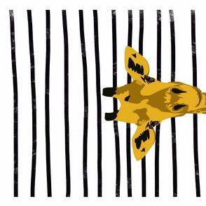 Geoffrey the Giraffe - tea towel
