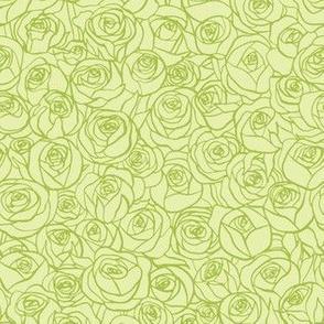 ranunculus floral - citron
