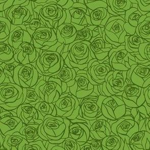 ranunculus floral - grass