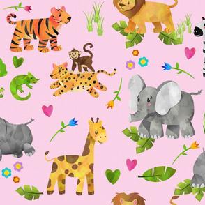 Safari 1 Pink