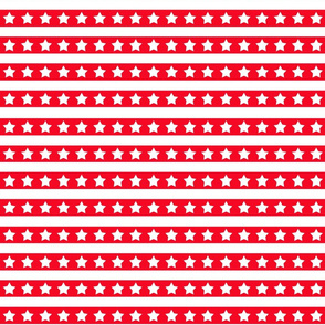 Red And White Stars And Stripes