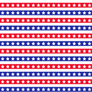 Red White And Blue Stars Stripes