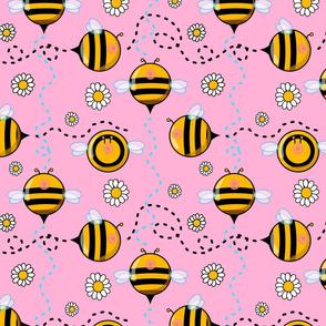 boob bees pink