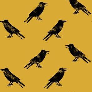 Ravens - mustard - halloween - LAD19