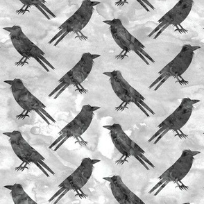 Ravens - grey - halloween - LAD19