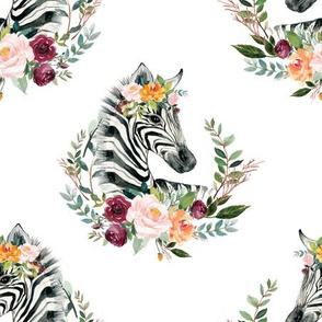 "paprika floral zebra 9"""