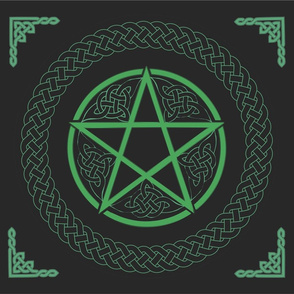 Celtic Pentacle revised