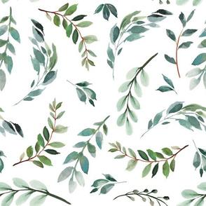 paprika floral greenery leafs