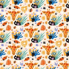 Colorful  savanna