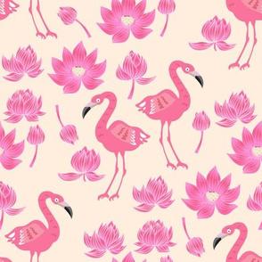 Flamingo pattern