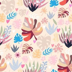 Jungle colorful pattern