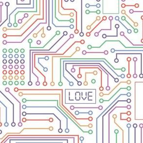 Connect - rainbow