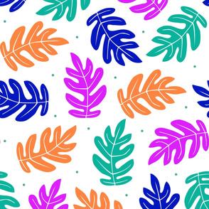 Tropical Leaves - Splash