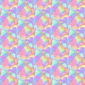 Tumbling Pastel Rainbows