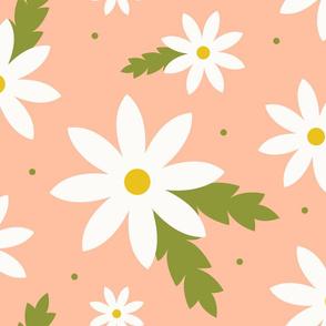 Daisy Crazy - Peach