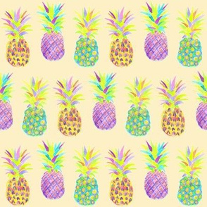 pineapple neon pale orange